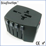 Black USB Charger Travel Adapter (XH-UC-015)