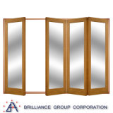 Aluminum Frame Glass Double Entry Door