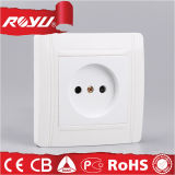 Power Electrical Plastic Wall Universal Socket for Home