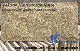 Customized Yellow Mushroom Granite Stone