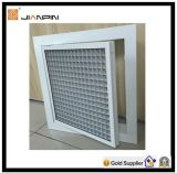 Aluminium Loose Core Eggcrate Grille with Filter