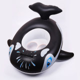 PVC or TPU Inflatable Whale Baby Floating Seat