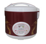 Deluxe Rice Cooker with Nice Control Panel Design