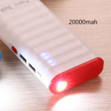 Mobile Phone Charging Power Bank with LED Lighter for iPhone Android