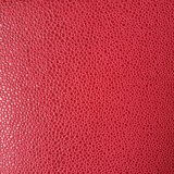Embossed Hami Melon Shaped Suede Microfiber PU Leather for Shoes Bags (HS-M1703)