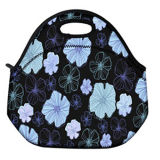 Fashion Insulated Neoprene Lunch Tote Bag Picnic Bag Cool Bag with Zip & Handles