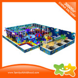 Outer Space Theme Children Indoor Playground Equipment with Trampoline