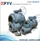 Carbon Steel Trunnion Mounted Ball Valves (A105)