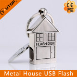 Metal House Real Estate Promotional Gift USB Flash Drive (YT-1245)