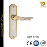 New Furniture Hardware Zinc Alloy Door Lock Plate Handle (7022-Z6101)