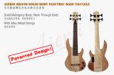 Aiersi Bass Ukulele Left Handed Bass Electric Guitar 24 Fret