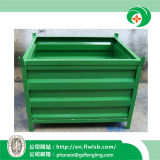 Metal Turnover Container for Warehouse by Forkfit with Ce