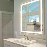 Customize Hotel Fogless LED Lighted Backlit Bathroom Mirror