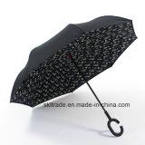 Colourful New Items Portable Handsfree Straight Reverse Inverted Umbrella