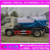 Italy Vacuum Pump Small 5000L Sewel Jetting Water Tanker Truck