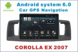 Android System Car DVD GPS Player for Toyota Corolla Ex 9 Inch Touch Screen