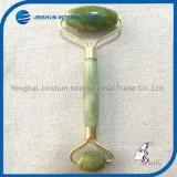 Double Head Green Jade Face Roller Massager for Beauty (JSI-0014)