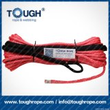 Orange10.5mmx28m4X4 Synthetic Winch Rope Tough Rope 100% Uhwmpe Fiber