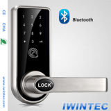 Digital Door Lock Open with Smart Phone