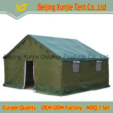 8 Person 5mx4m 3 Layers Green Canvas Cotton Construction Military Tent