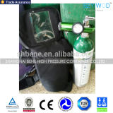 Aluminum Oxygen Tank with One Complete Set of Accessories