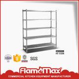 Stainless Steel 5-Tier Storage Shelf (HS-512B)