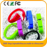 Custom Logo Freely Silicone Bracelet USB Flash Drives (EG001)