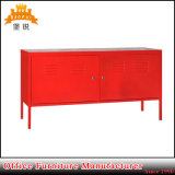 New Model Red Color Simple TV Stand Metal TV Cabinet