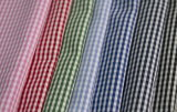 2mm Classical Checks Polyester Cotton Shirt Fabric