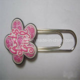 Flower Soft PVC Book Clip for Stationery