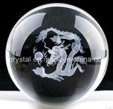 Crystal Dragon Engraving Laser Ball