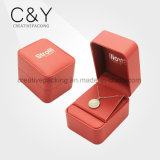 Customized Red Leather Jewelry Case