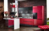 2017 New Design Wooden UV Kitchen Furniture (zx-065)