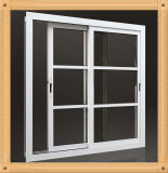 55mm Series Aluminum Casement Windows with Grill Design