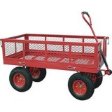 Yard, Garden Work Tool Cart