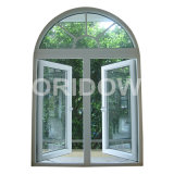 UPVC Casement Window with Arch Top (OR-CW001)