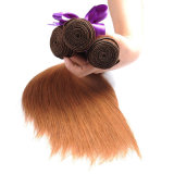Brazilian Straight Human Hair Bundles Color 30 Hair Weave 12""