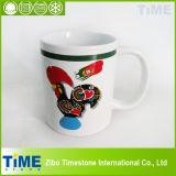 11oz Porcelain Decal Coffee Flag Mug of Portugal (TM160302)