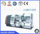 CK61100D series CNC Horizontal Heavy Duty Gap Bed Lathe Machine