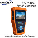CCTV IP Camera Test Monitor with Tdr Test (IPCT4300T)