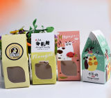 New Style High Quality Paper Chocolate Packaging Box with Window, Candy Gift Box