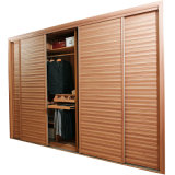 Oppein Fashion Golden 4 Doors Wardrobe Furniture (OPY09-14)