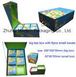 Eco-Friendly Materials OEM High Quality Rigid Cardboard Tea Packaging Box