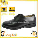 Police Man Black Military Officer Shoes