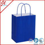 Blue Qualified Machine Made Cheap Recycle Brown Paper Bags