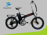 Foldable 20 Inch Electric Folding Bike with Lithium Battery