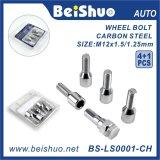 4+1 PCS Wheel Lock Bolt for Wheel Security Double Blister