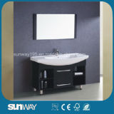 2014 Painting Solid Wood Bathroom Furniture with Sink