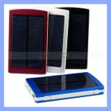 Portable 10000mA Emergency Solar Battery Charger for Mobile Solar Charger (SC-01)