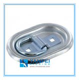 Zinc Plated Recessed Trailer Tie Down Lashing Ring